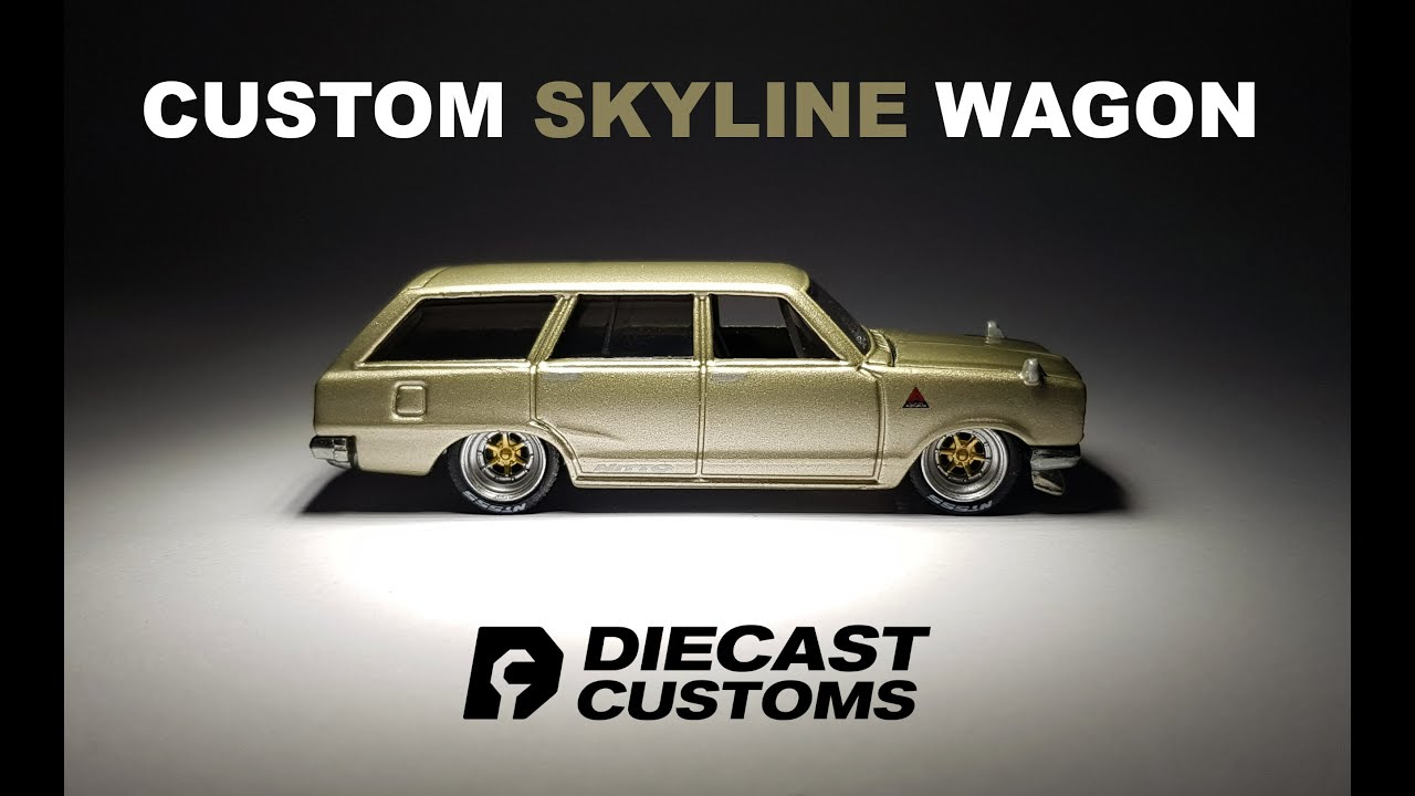 Custom Hot Wheels Skyline Wagon