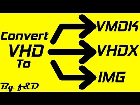 How to Convert VHD to VHDX