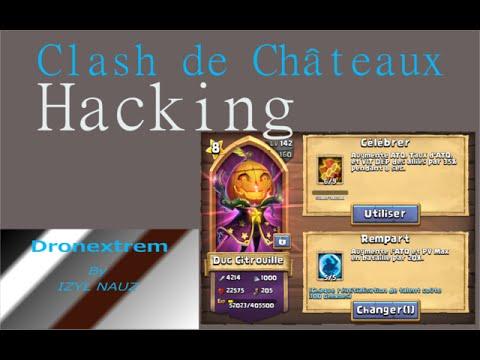 Castle Clash - Hacking Gemmes Illimitées