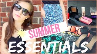 My Summer Essentials! | Beauty & Fashion Thumbnail