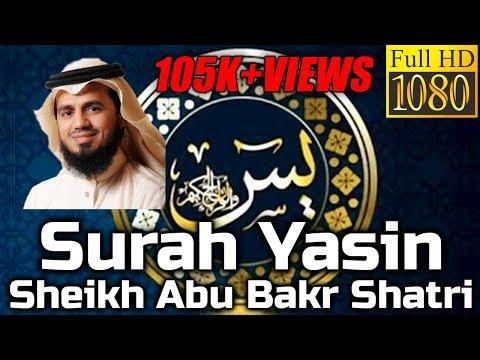 Surah YasIn FULL سُوۡرَةُ یسٓ Sheikh Abu Bakr Shatri - English & Arabic Translation