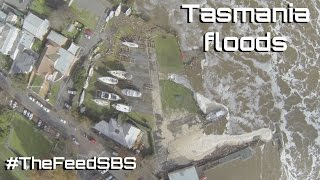 Tasmania floods - The Feed
