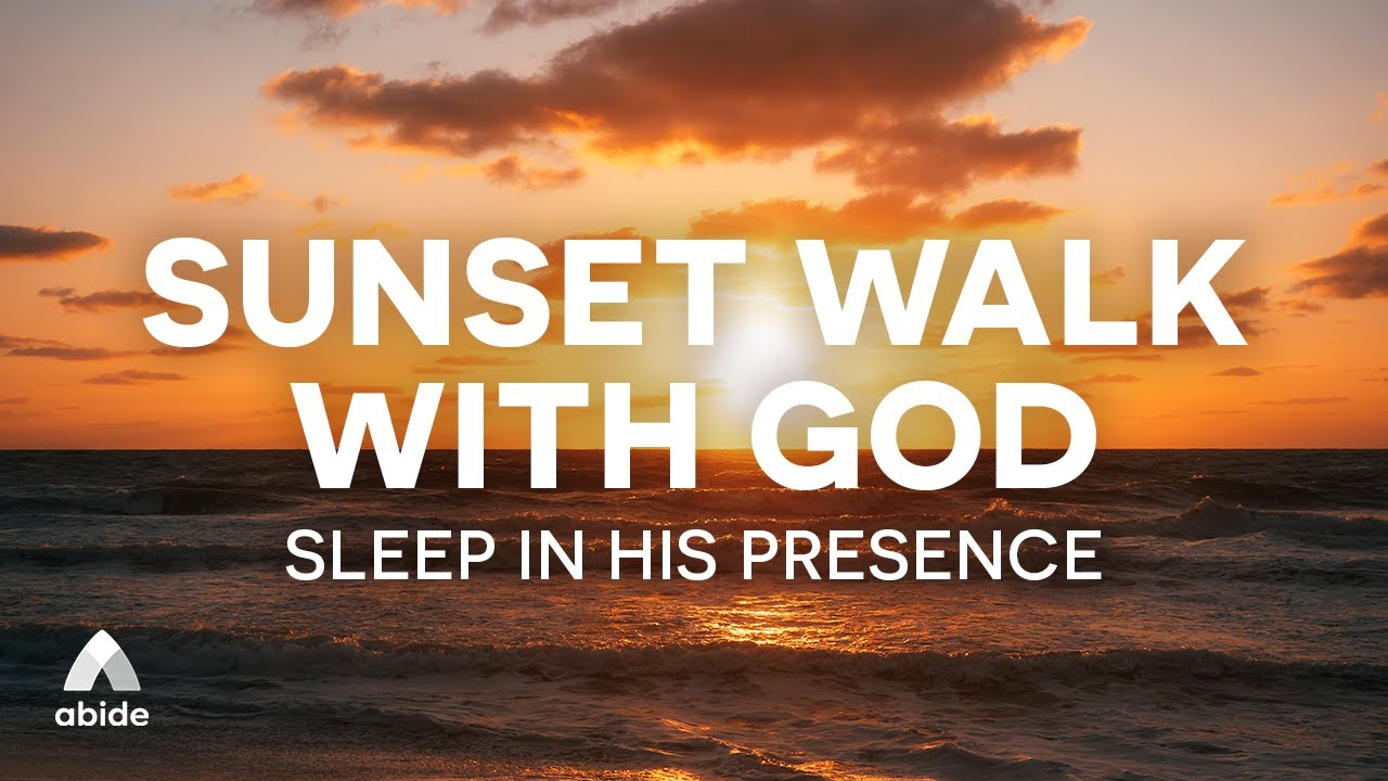 Download God, Walk & Sunset: A Beautiful Bible Bedtime Talk Down with Peaceful Prayers | Listen As You Sleep