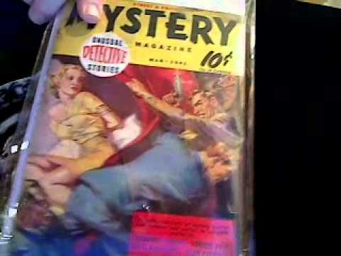 PULP MAGAZINES COLLECTION AND COMIC STUFF