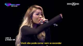 UNPRETTY RAPSTAR 2 - Yubin (Ex-Wonder Girls) vs Hyorin (Sistar) [LEGENDADO/PT-BR]