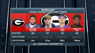 Lemming Report: Georgia is the winner of early signing period