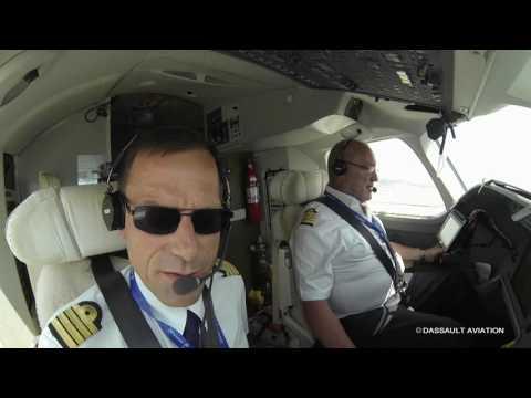 The Falcon 8X flying display - 2017 Paris Air Show - Dassault Aviation