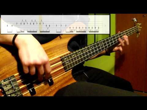 Muse - Sunburn (Bass Cover) (Play Along Tabs In Video) mp3