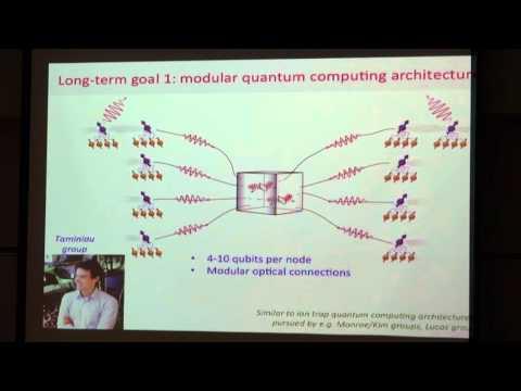 JQI Seminar 4/18/2016- Ron Hanson