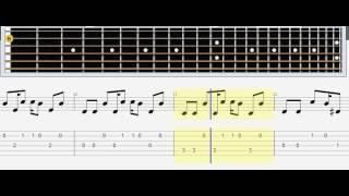 Lumen   Сид и Ненси табулатура, ноты, гитара акустика, табы