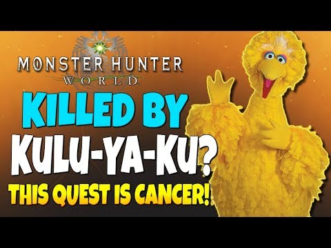 Monster Hunter World - Killed By Big Bird?! ...Worst Quest Ever!!! (A Visitor from Another World) |