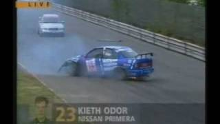 STW 1995 AVUS - Kieth O'dors Fatal Accident