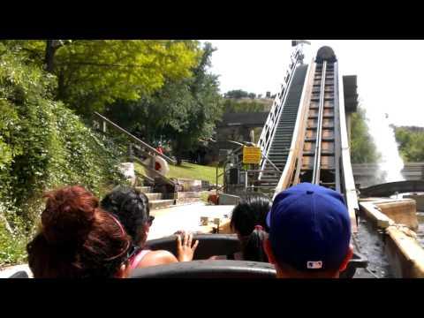Six Flags water log ride