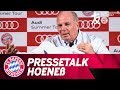 Asia Tour, Tolisso und Sporting Director - Uli Hoeneß Press Conference | Audi Summer Tour 2017