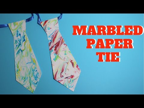 diy-marbled-tie-|-fathers-day-crafts-for-kids