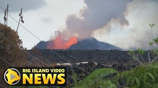 Hawaii Volcano Eruption Update - Sunday Morning (June 17, 2018)