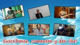 Band Cover || Dan Dan Kokoro Hikareteku - Dragon Ball GT ~Español Latino~ (+Letra & Instrumental!)