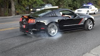 Mustang Burnouts, Drifts, and Fly-By Compilation (2018)