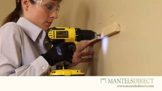 Wooden Mantel Shelf | Installation | Mantelsdirect.com