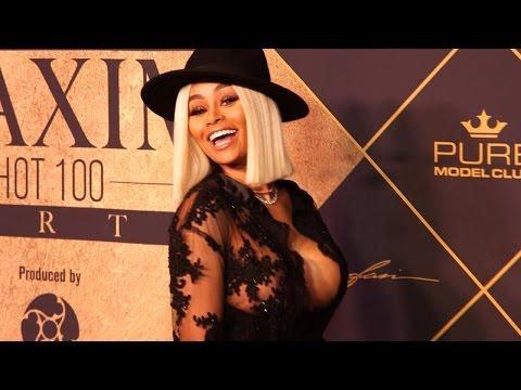 See Blac Chyna Stun at Maxim Hot 100 Party!