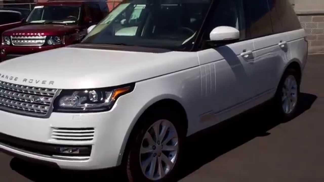 Range Rover Vs Land Rover >> 2015 Land Rover Range Rover Yulong white - YouTube