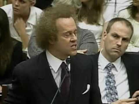 Richard Simmons on Capitol Hill