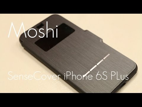 new styles 093b8 a1e9e Top Folio Case for iPhone 6/6S Plus - Moshi SenseCover! - In-depth Review
