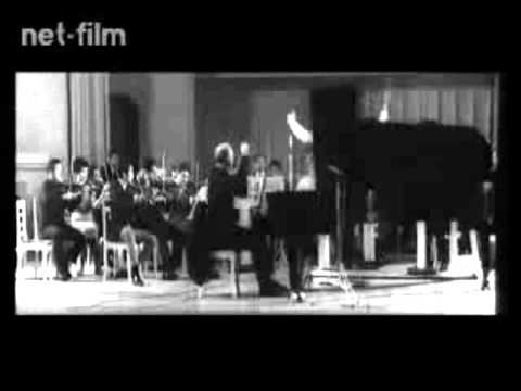 S. Richter & R. Barshai (rehearsal) 1966