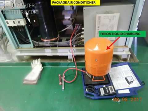 How To Charge Freon Liquid Gas In Air Conditioner