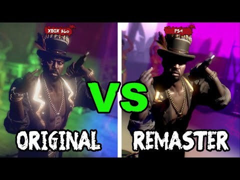Who Do You Voodoo, Bitch!? | Original vs Remastered HD Graphics Comparison