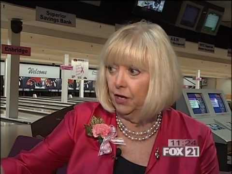 Bowling to Beat Breast Cancer on FOX21 TV