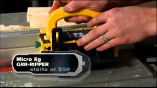 The Safest, Most Precise Pushblock For The Table Saw - The Grr-ripper