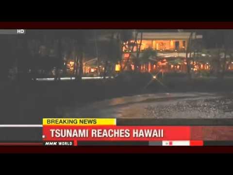 Breaking News: Tsunami Reaches Hawaii