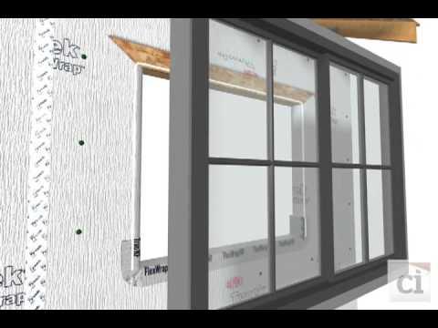 DrainWrap™ and Window Installation | DuPont™ Tyvek®