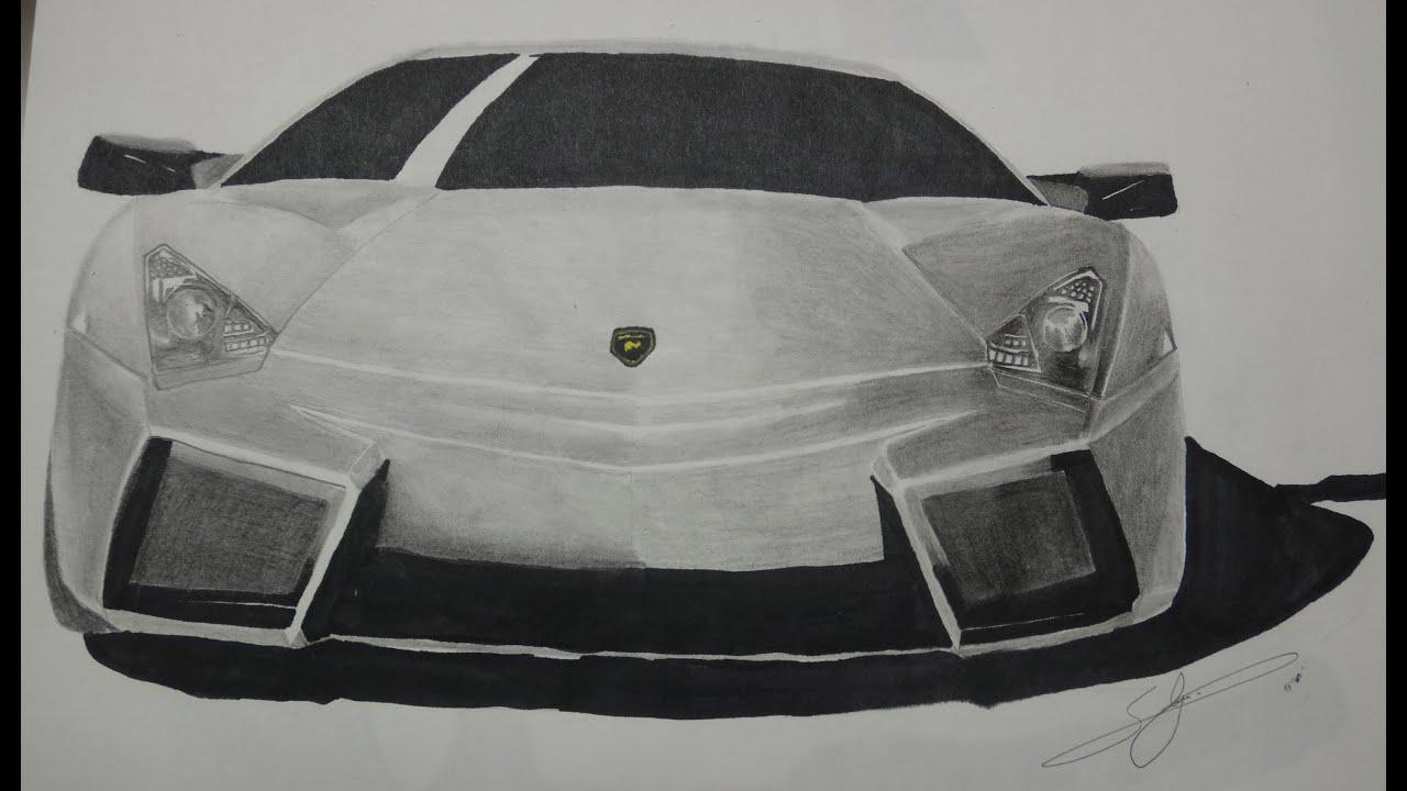 Draw Lamborghini Reventon Youtube