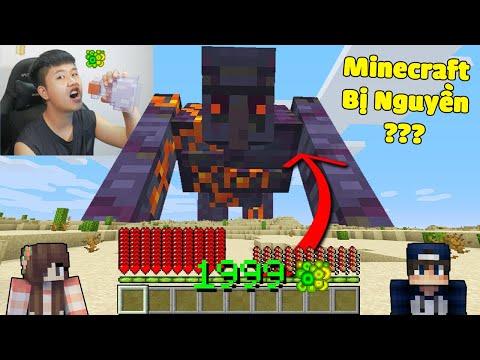 Minecraft, Nhưng bqThanh và Ốc Nhận Kinh Nghiệm XP Sẽ Biến Thành Con MOBS Bất Kỳ...