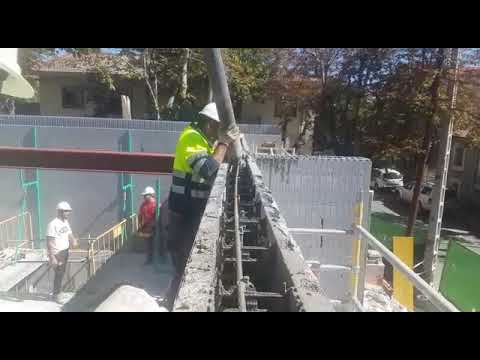 StyroStone ICF concrete pour El Escorial / Madrid / Spain1
