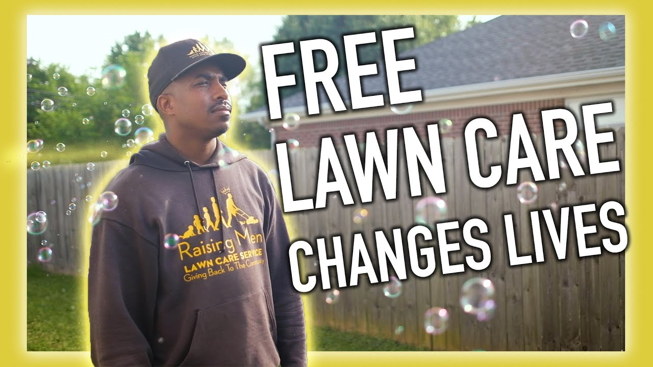 This man is changing the world one lawn at a time