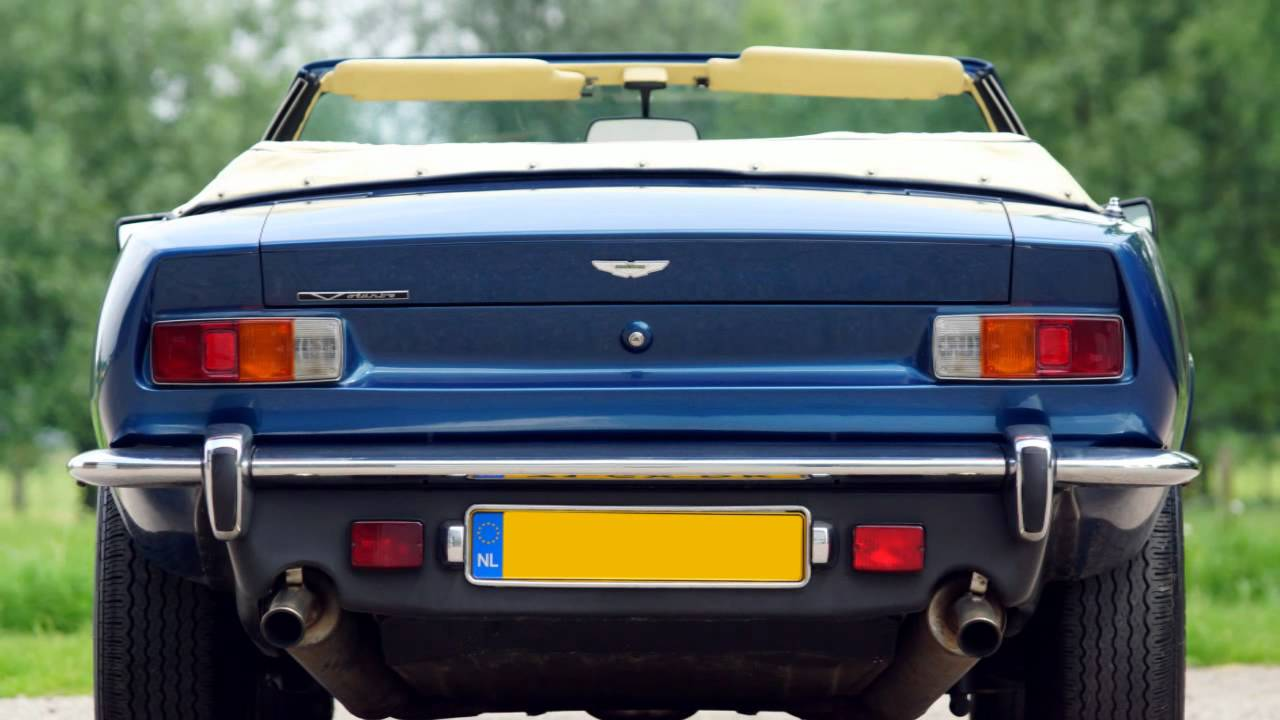 Aston Martin V Volante HD Photo Video With Stereo Engine - 1986 aston martin vantage