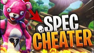 I'M WARNING THE FIRST TIME A CHEATER (Fortnite: Battle Royale)