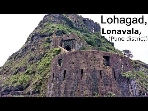 Lohagad Fort, Lonavala (Pune District) [Fast paced video]