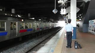 或る列車(門司港コース)小倉駅入線