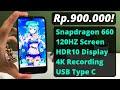 - 900 RIBU Layarnya Sudah 120HZ! + SD 660! | Sharp Aquos R Compact SHV41 Unboxing Dan Hands On 2020!