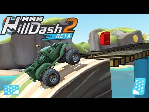 MMX Hill Dash 2 Android Gameplay - Racing Cars Game for Kids Ep 1