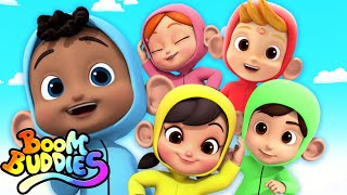 Five Little Monkeys | Nursery Rhymes & Kids Songs For Children | Baby Rhyme
