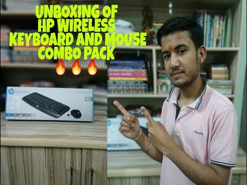 HP Wireless Multimedia Keyboard And Mouse Combo| Unboxing And Review|🔥🔥🔥