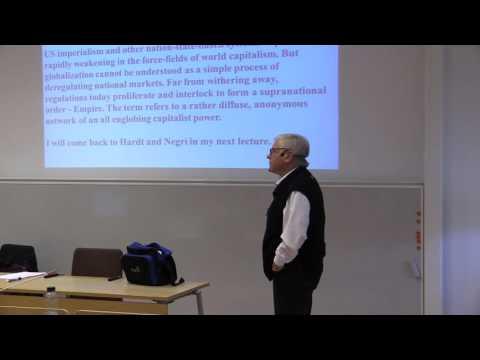 Johan Lönnroth lecture 3 Global Studies Gothenburg