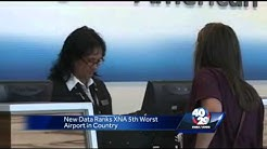 New data ranks XNA 5th worst airport in America