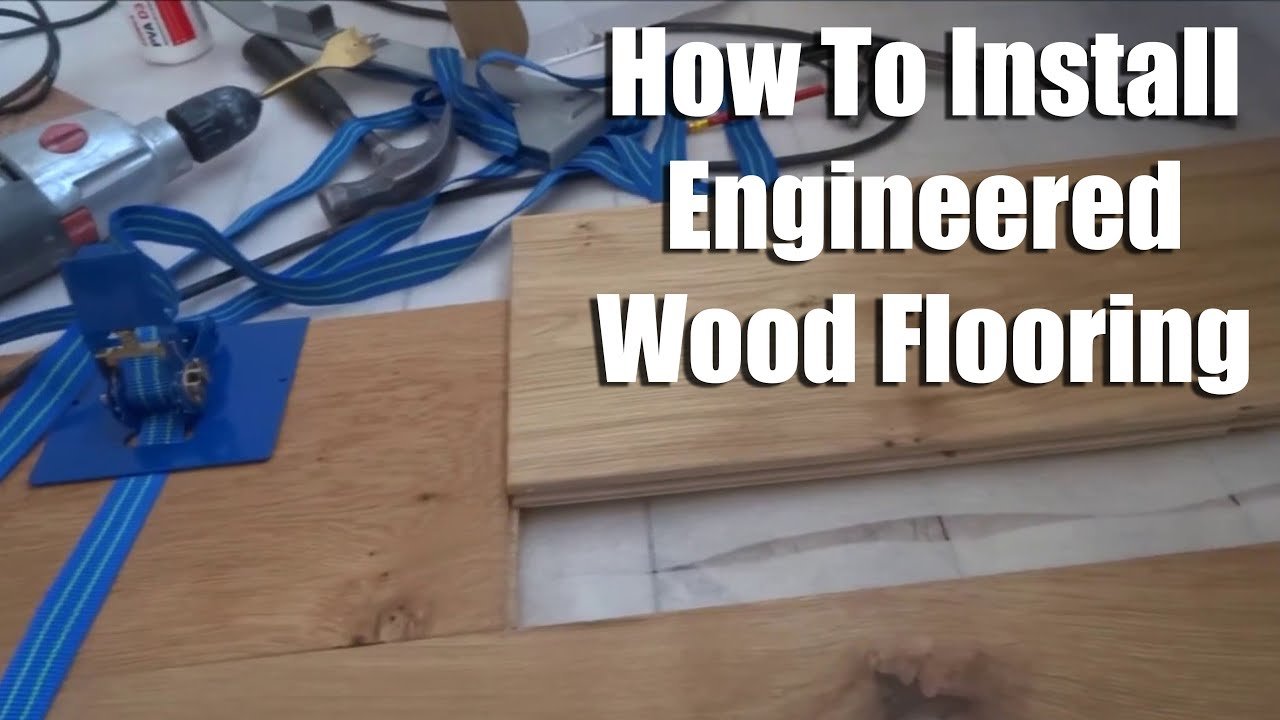 How To Install Tongue And Groove Wood Flooring Youtube