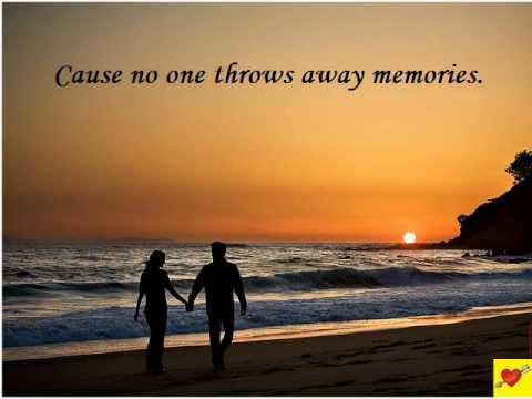 No One Throws Away Memories (Hallmark Theme)